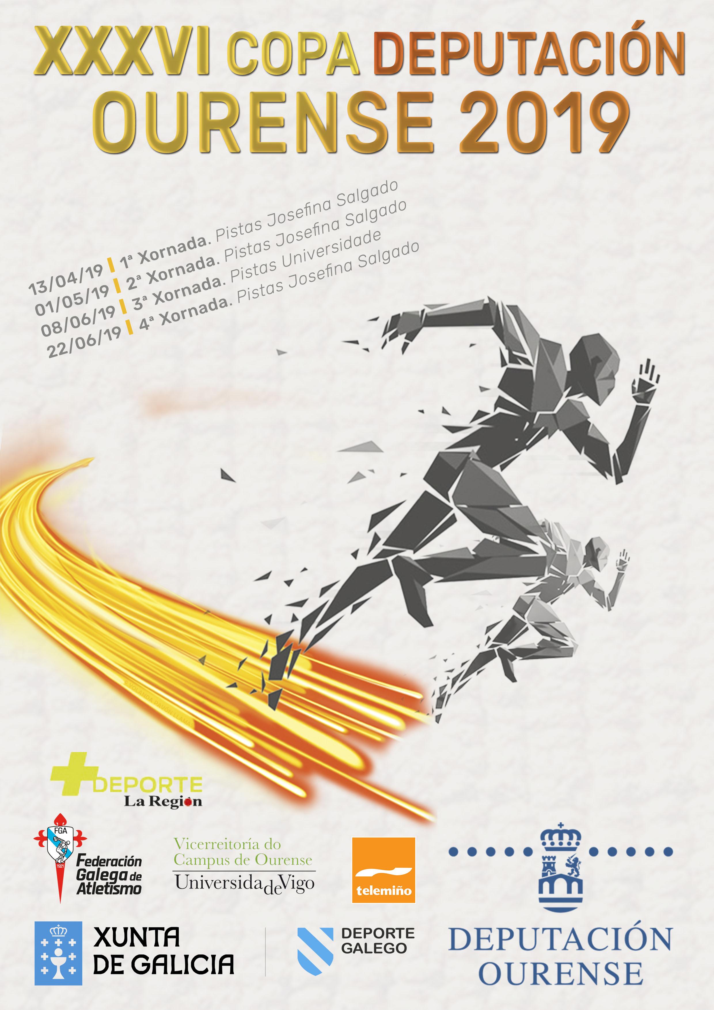 XXXVI Copa Deputación Ourense Atletismo – 2ª Xornada