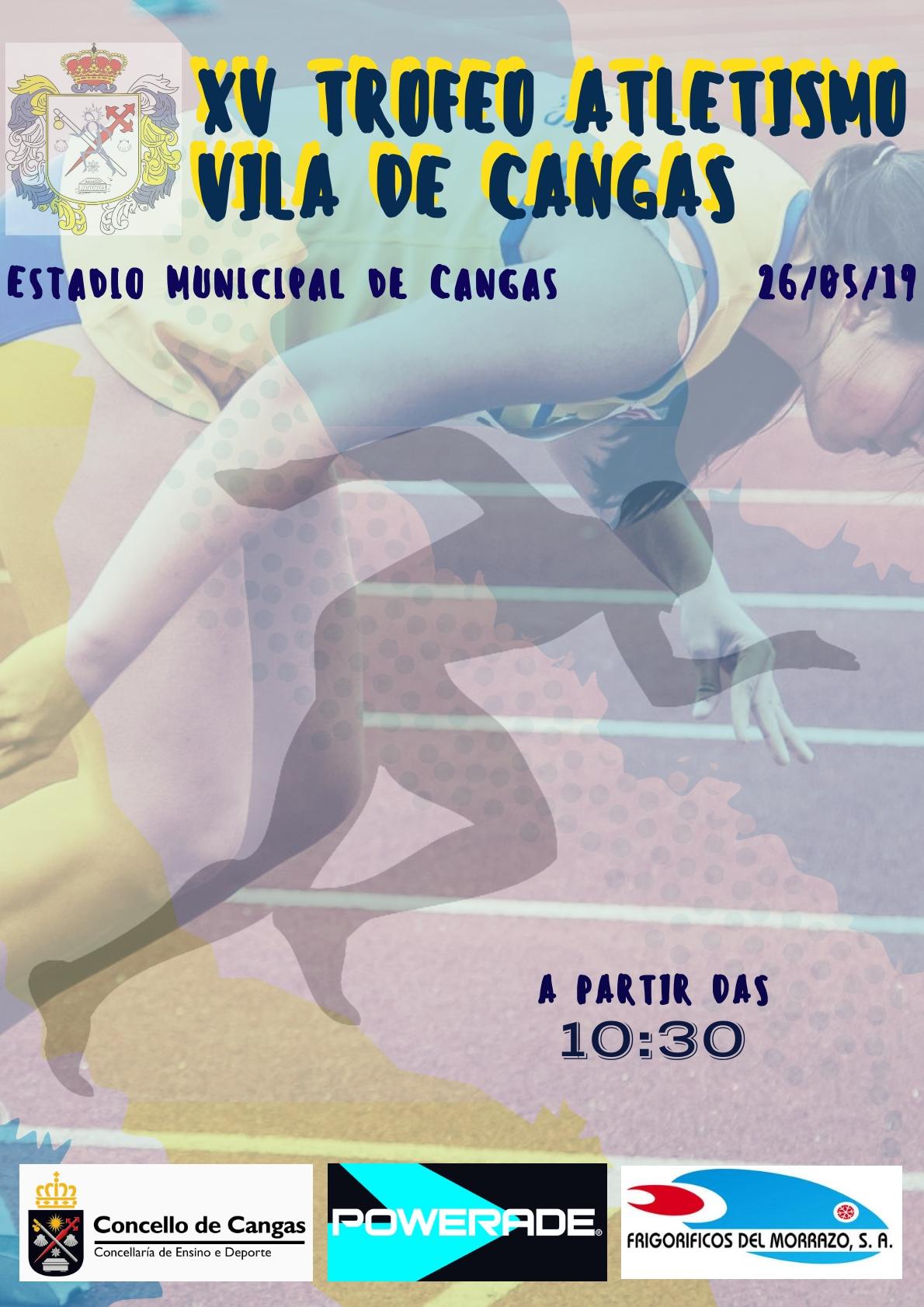 XV Trofeo Vila de Cangas de Atletismo en Pista