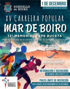 XV Mar de Boiro – Memorial Pepe Buceta