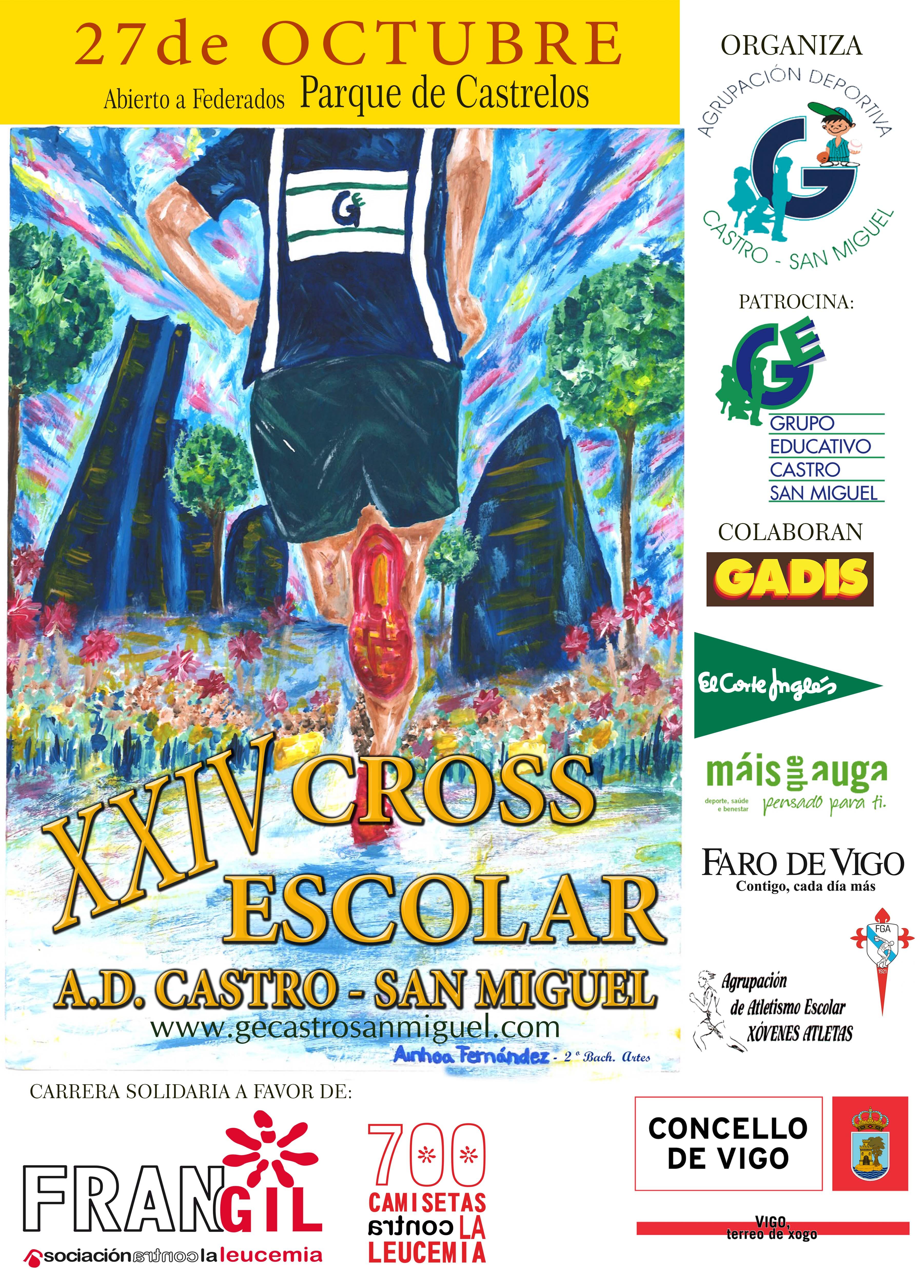 XXIV Cros Escolar A.D. Castro – San Miguel