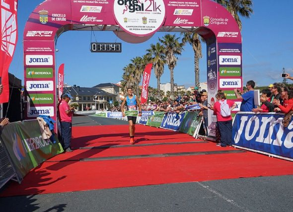 Auditoría do Campionato de España Máster de Medio Maratón