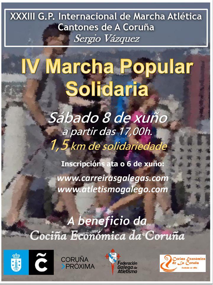 III Marcha Popular Solidaria – XXXIII GP Cantones de A Coruña