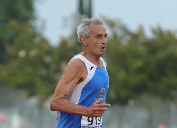 José Vicente Rioseco, mellor atleta máster RFEA 2019