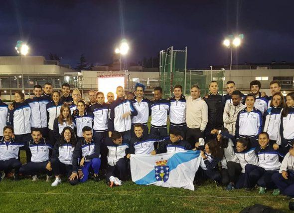 Sexto lugar para a Selección en Pamplona