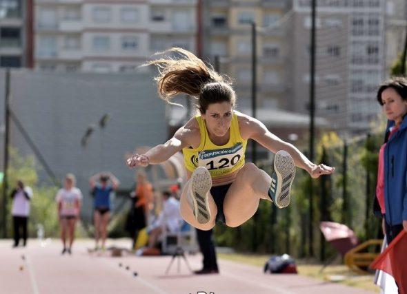 As saltadoras aterran no nacional
