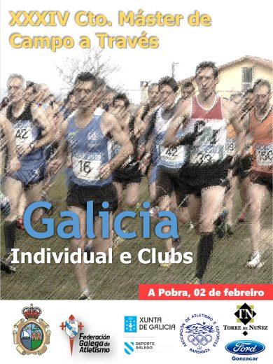 XXXIV Campionato de Galicia Máster de Campo a Través Individual e Clubs