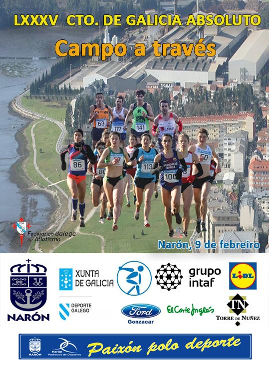 LXXXV Campionato de Galicia Absoluto de Campo a Través Individual e Clubs