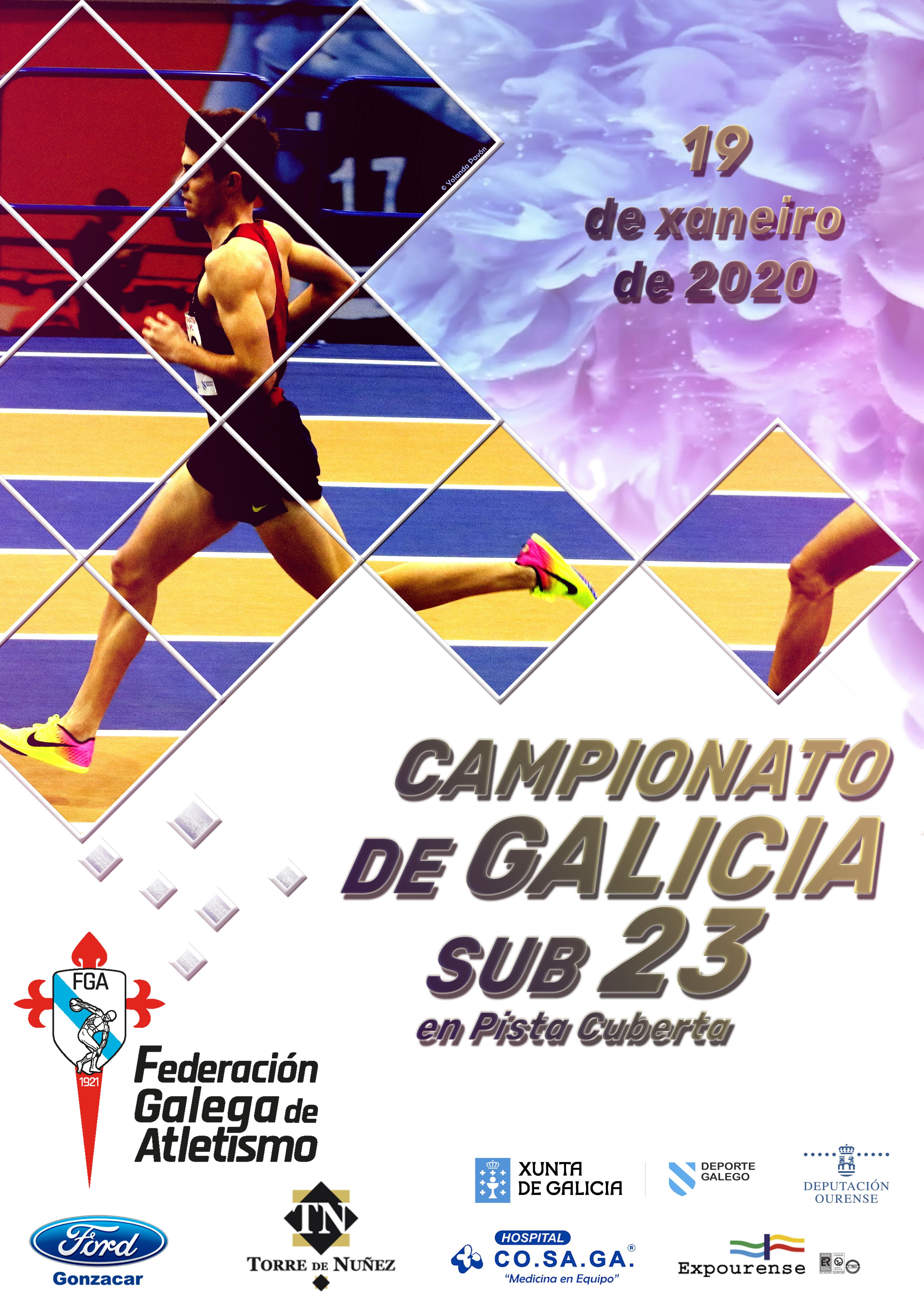 Campionato de Galicia Sub23 en Pista Cuberta 2020