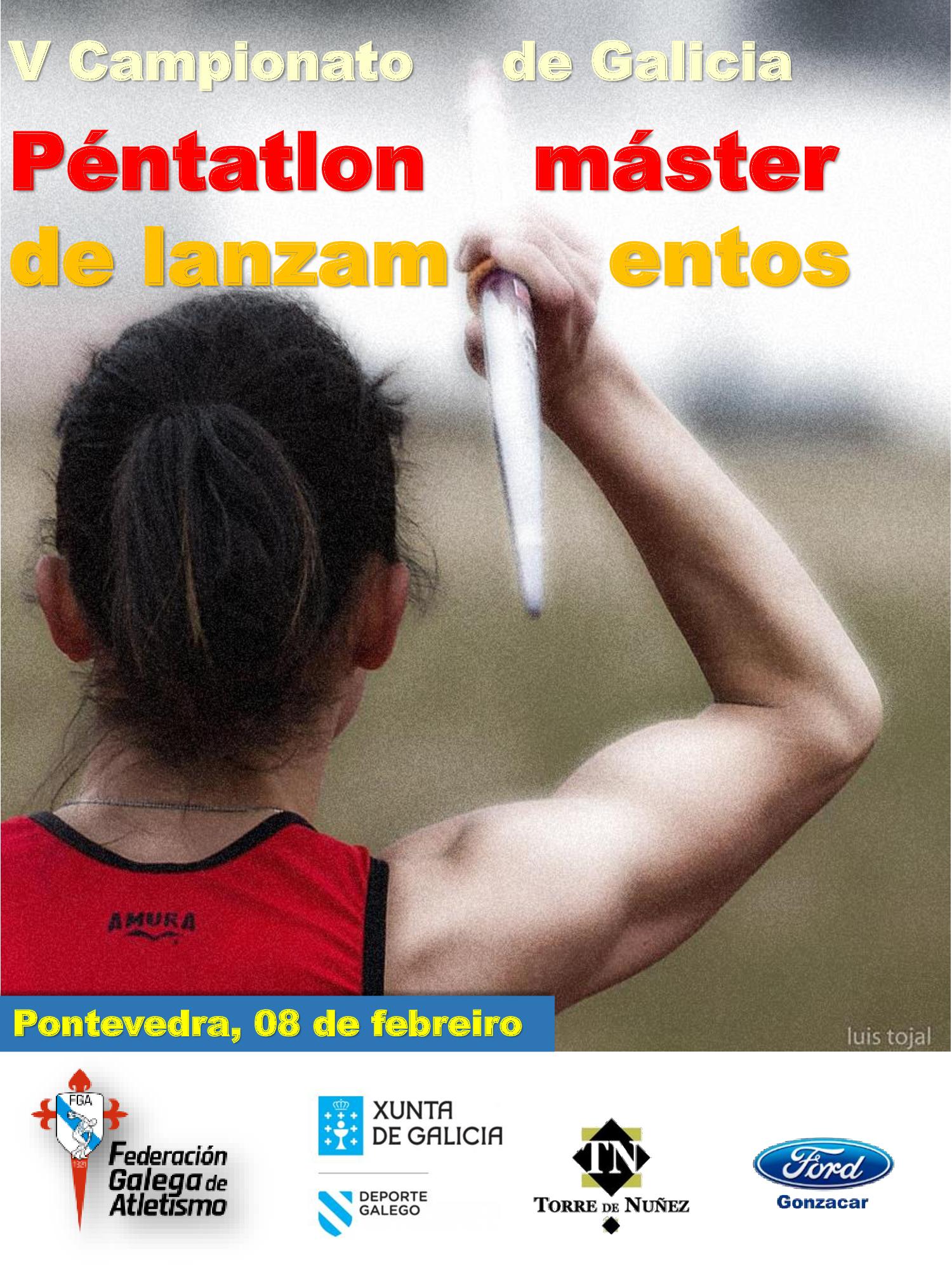V Campionato de Galicia de Péntatlon de Lanzamentos Máster