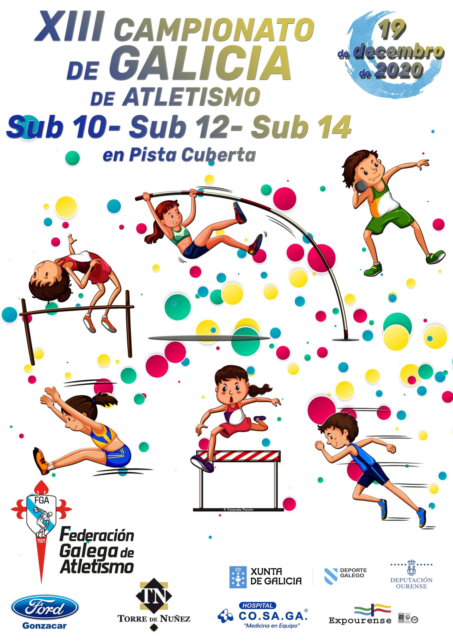 XIII Campionato de Galicia Sub10 – Sub12 – Sub14 (Medio Fondo e Fondo)