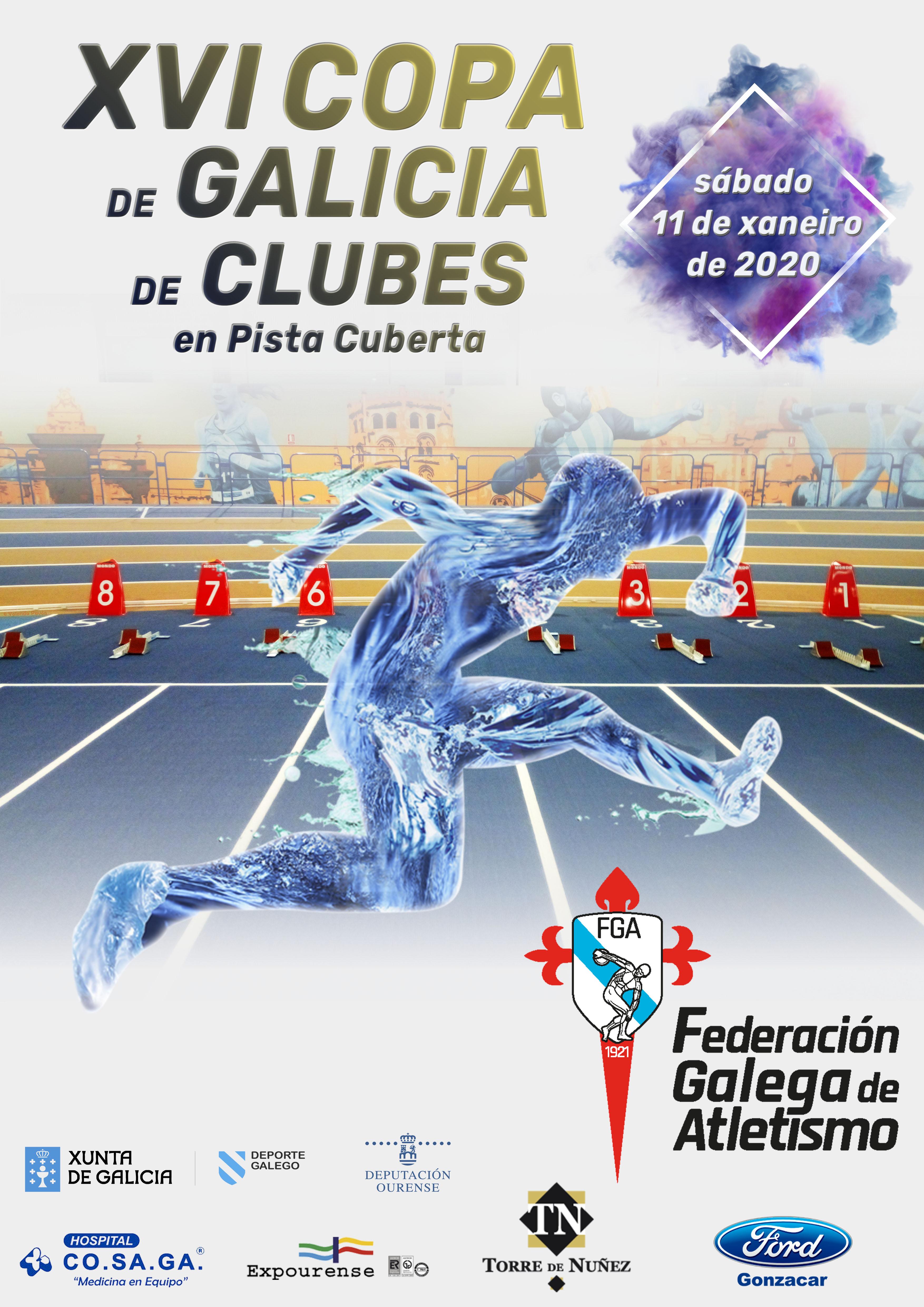 XVI Copa de Galicia de Clubs en Pista Cuberta