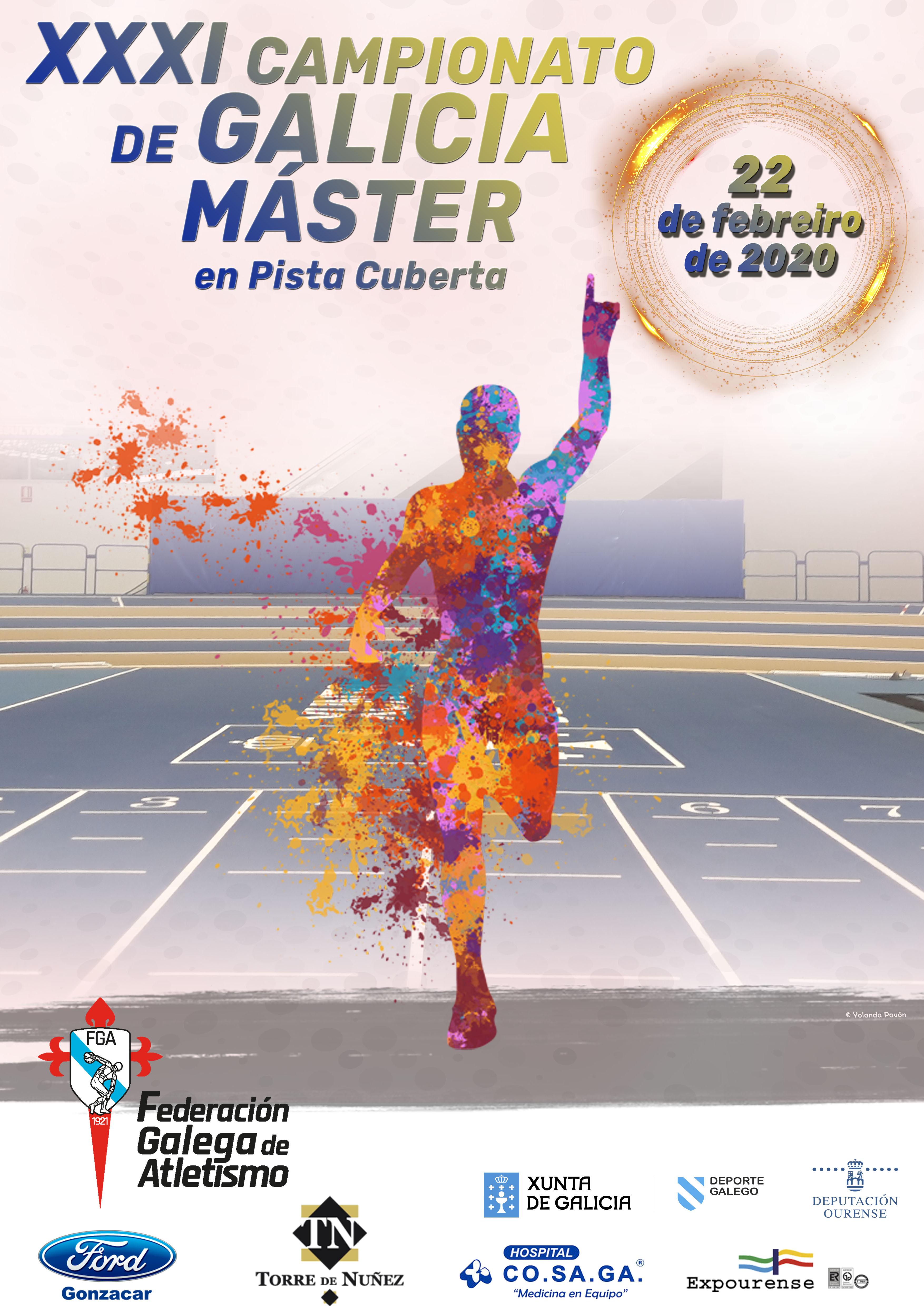 XXXI Campionato de Galicia Máster en Pista Cuberta