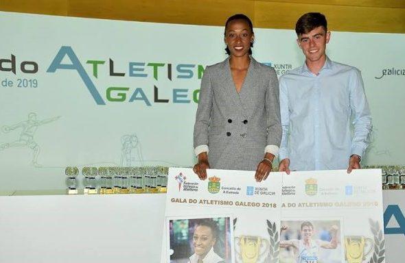 Ana Peleteiro e Adrián Ben, estarán en Doha