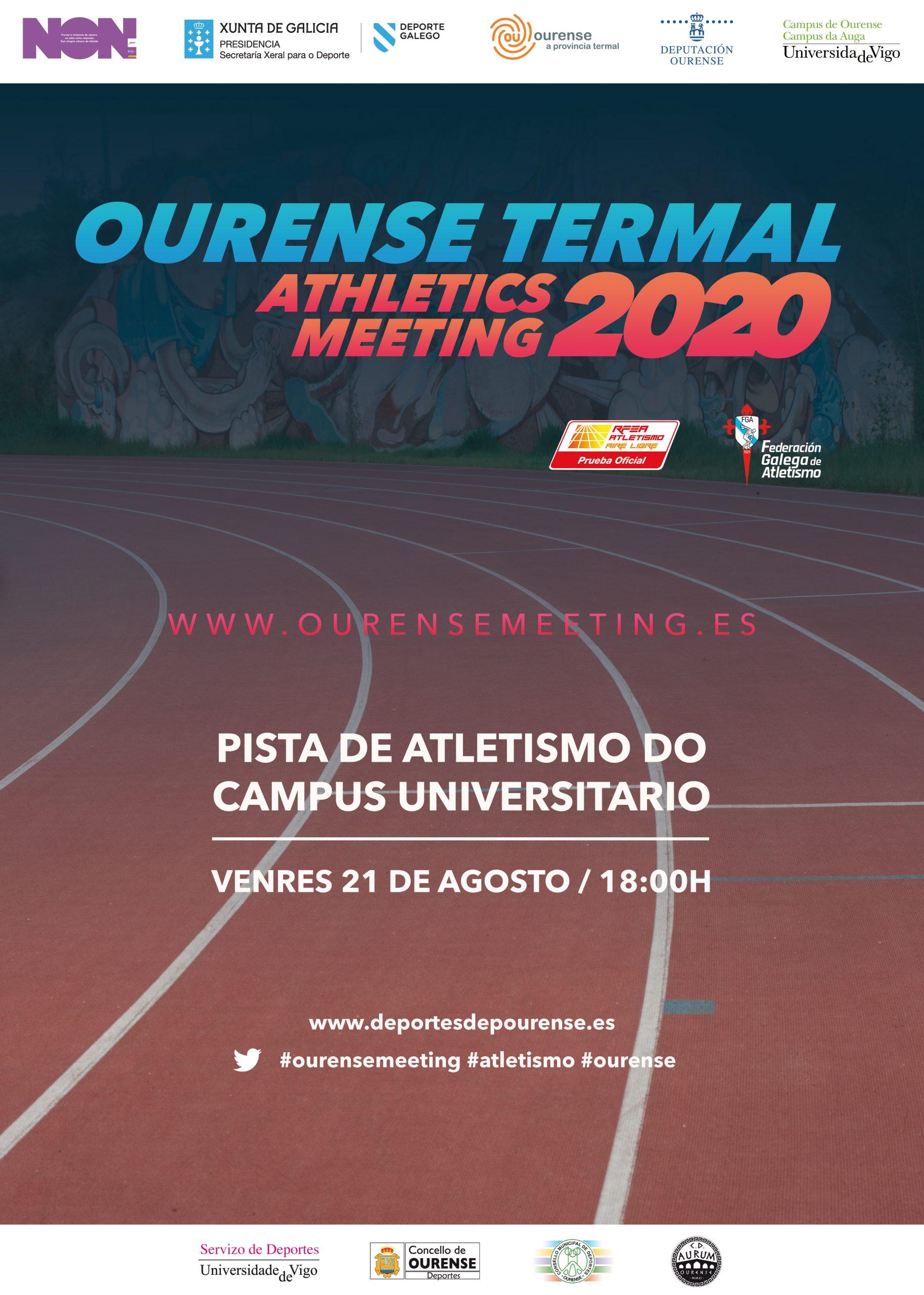 Ourense Termal Athletics Meeting 2020