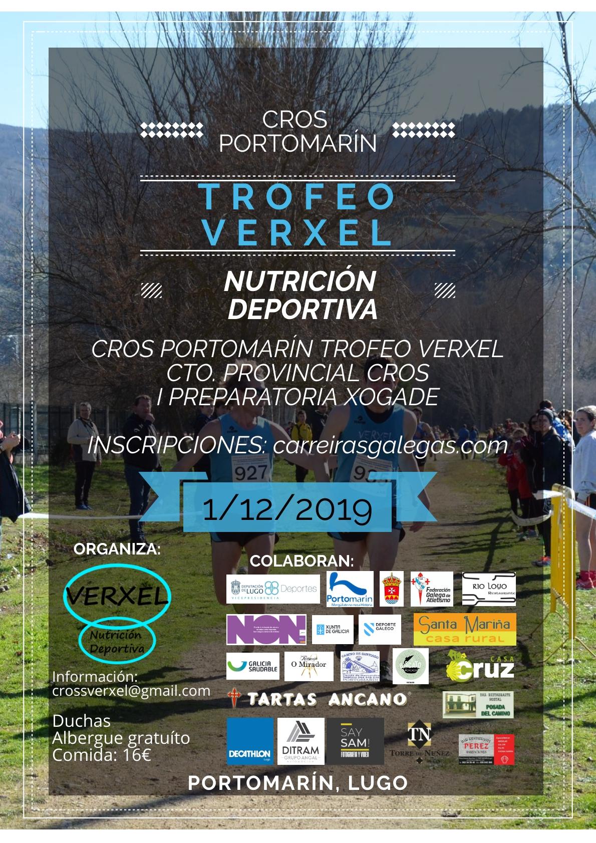 I Cros Portomarín – Trofeo Verxel- Cto. Provincial de Cross