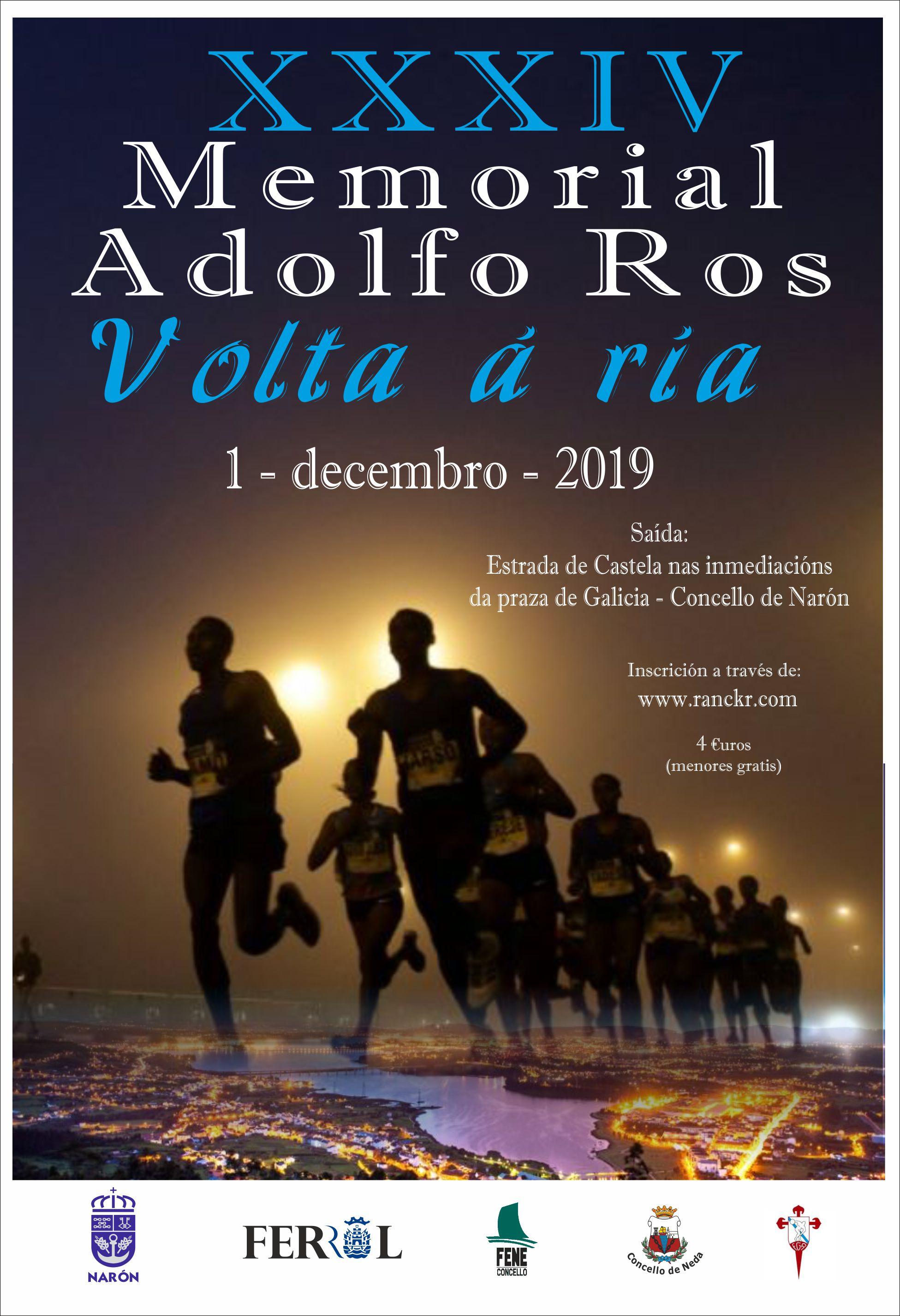 XXXIV Memorial Adolfo Ros – Volta á Ría