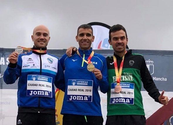 Manuel Hurtado, prata no nacional de maratón