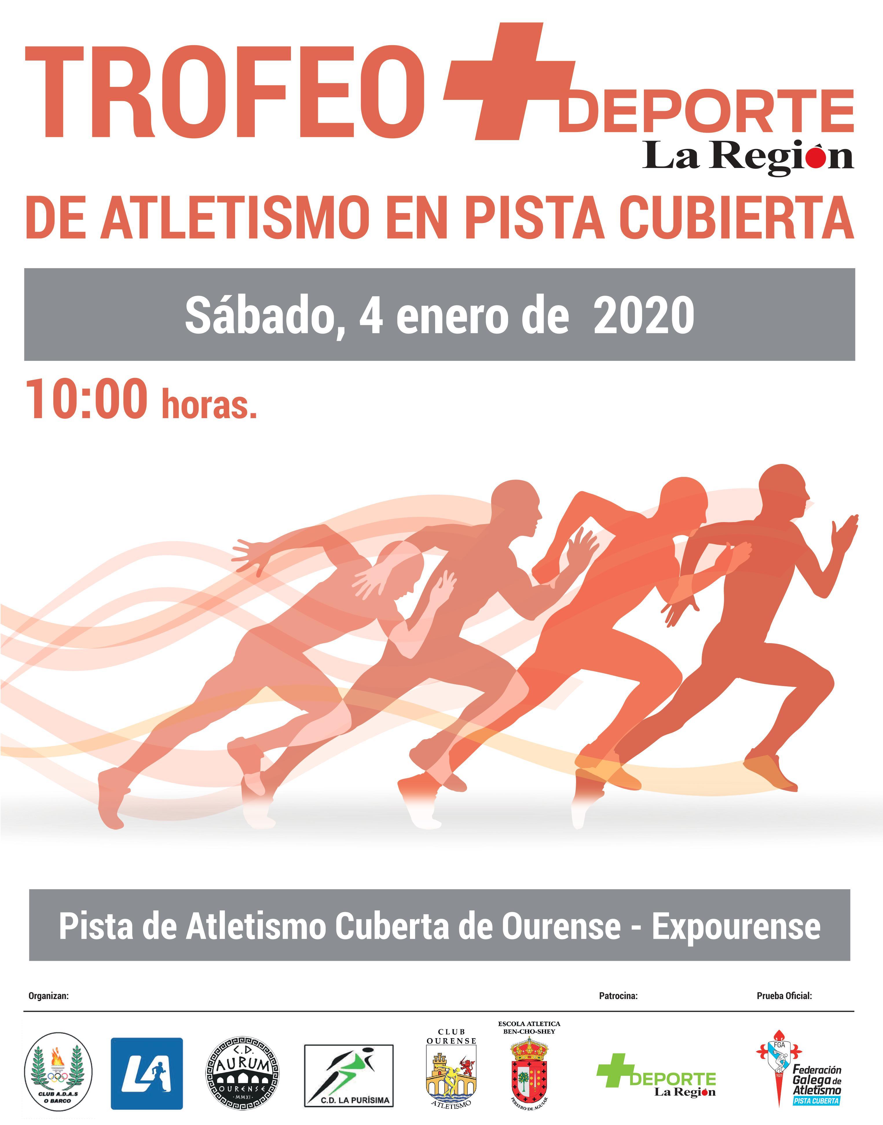 Trofeo + Deporte La Región de Atletismo en Pista Cuberta