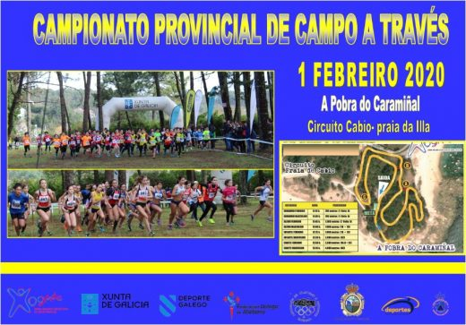 Xogade – Campo a Través – Campionato Provincial A Coruña 2020