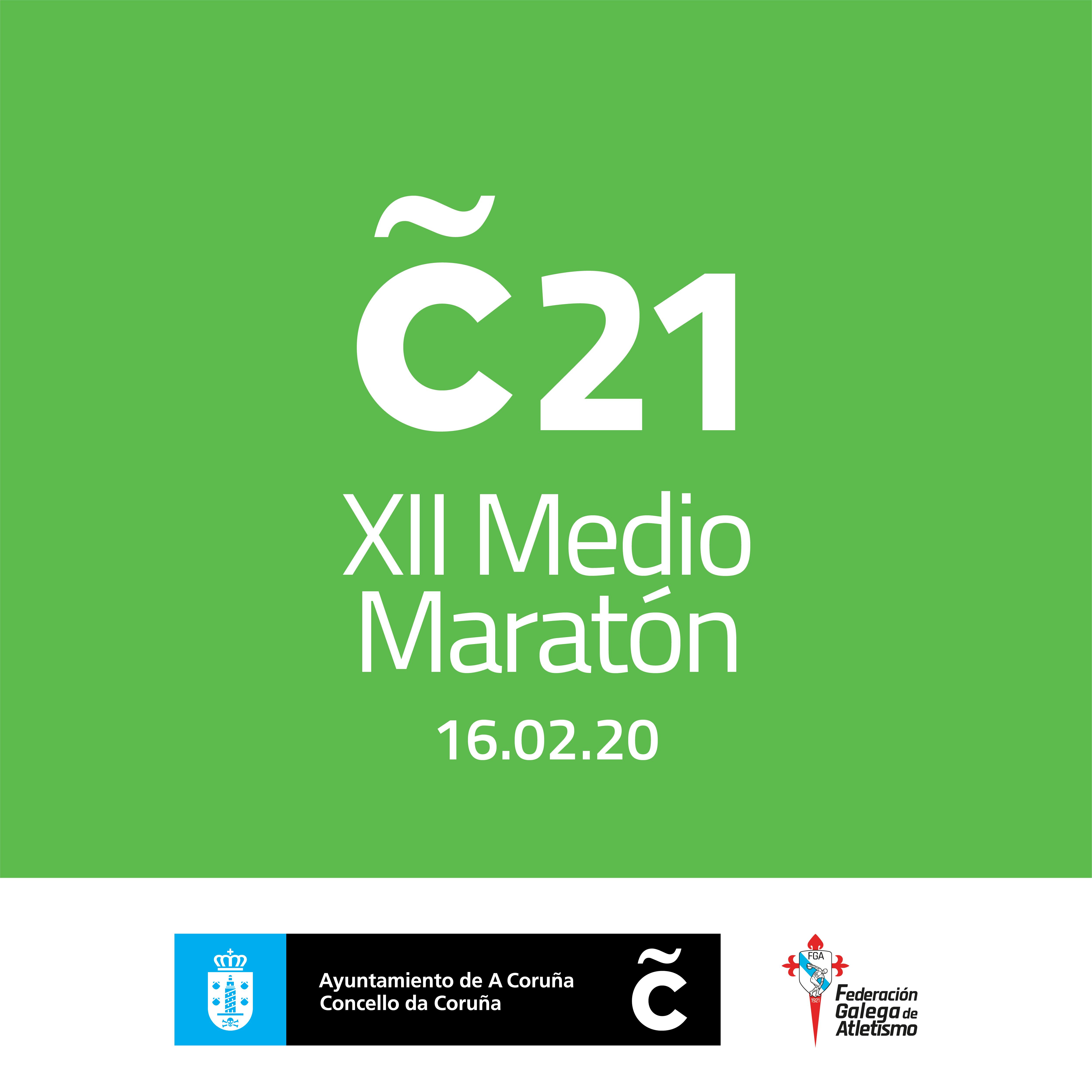XII Medio Maratón A Coruña 21