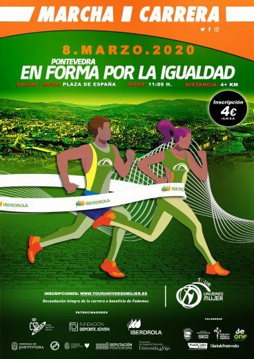 I Marcha-Carrera por la Igualdad Ciudad de Pontevedra