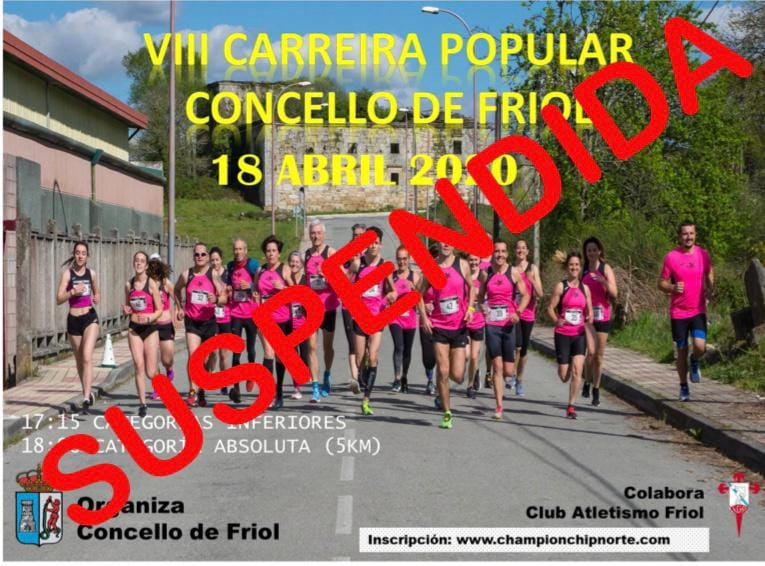VIII Carreira Popular de Friol – SUSPENDIDA
