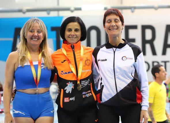 32 medallas no nacional máster de pista cuberta