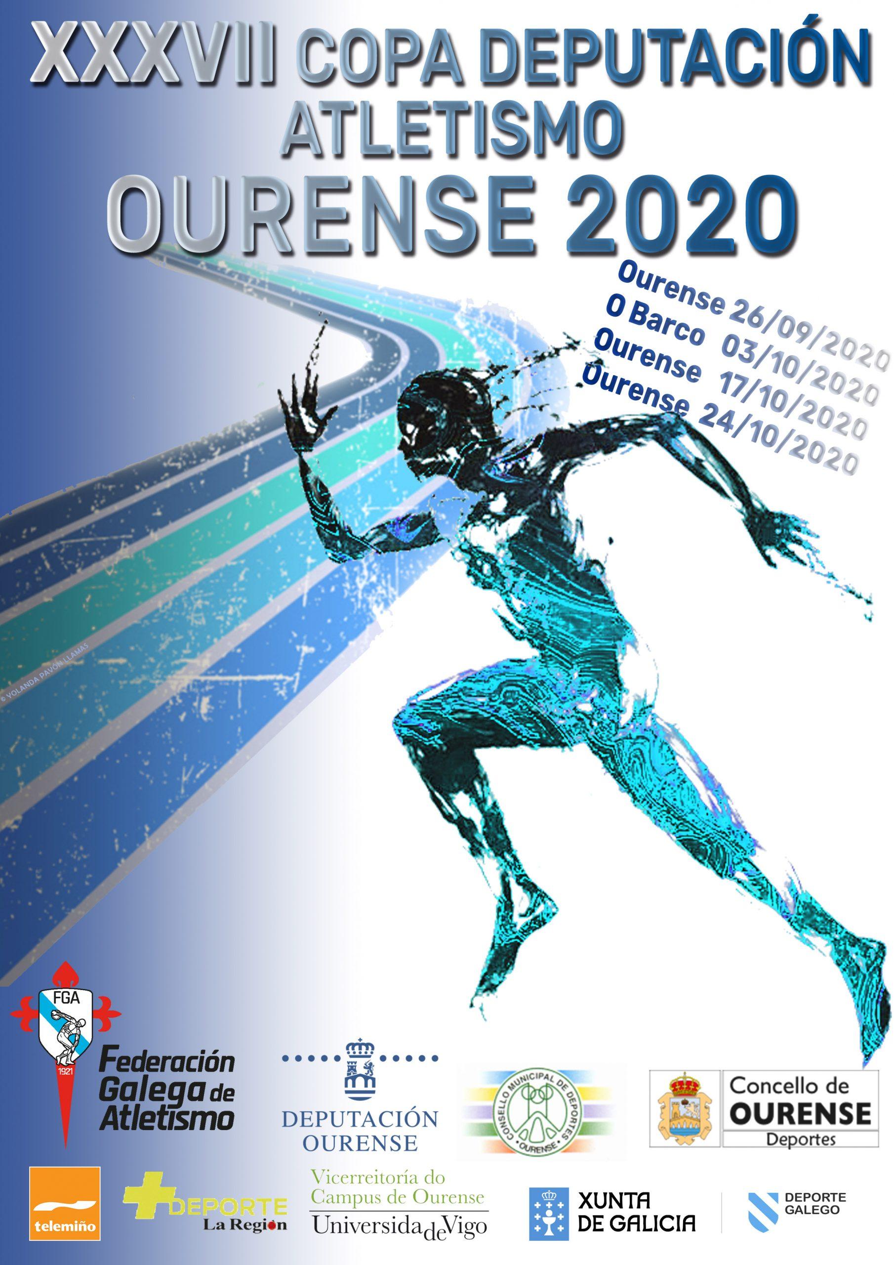 XXXVII Copa Deputación Ourense Atletismo – 2ª Xornada