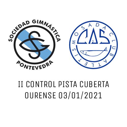 II Control Pista Cuberta S.G.Pontevedra – C.A. Sada