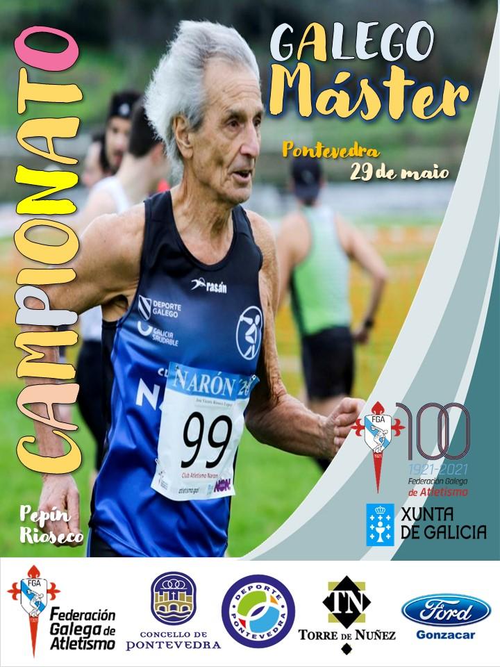XXXIV Campionato de Galicia Máster en Pista ao Aire Libre