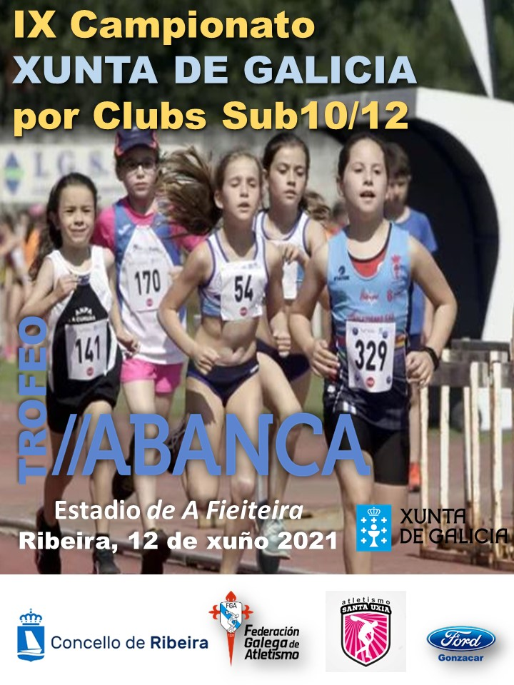 IX Campionato Xunta de Galicia de Clubs Sub10 – Sub12. TROFEO ABANCA