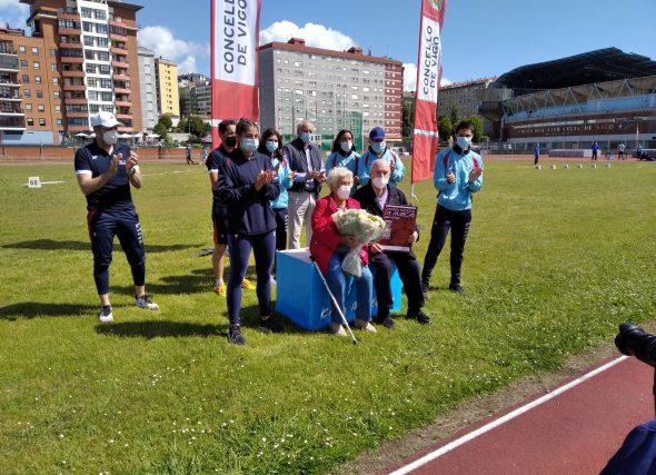 Homenaxe en Vigo á historia máis viva do atletismo