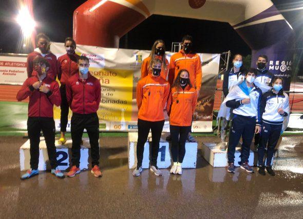 Galicia sube ao podio no nacional de Combinadas