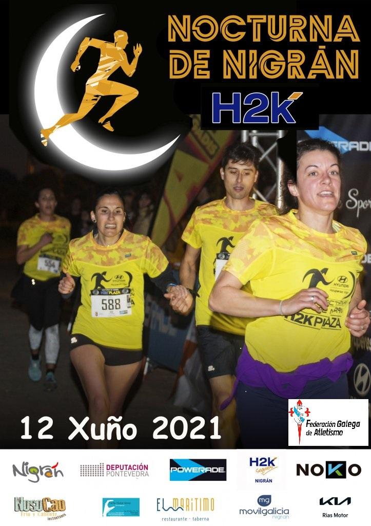 """II Carrera Nocturna de Nigrán """"Plazah2k"""" 2021"""