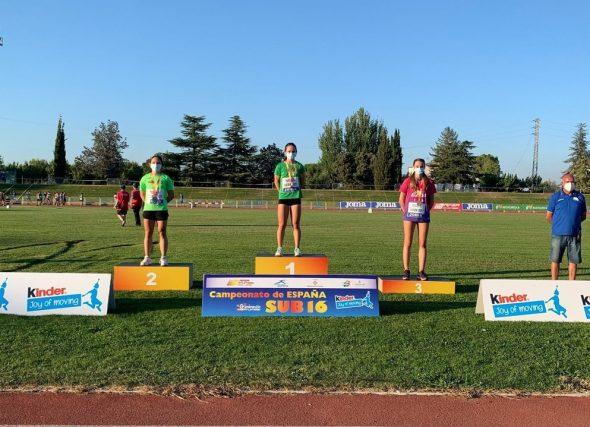 Xela e Antía lideran a Galicia no nacional Sub16