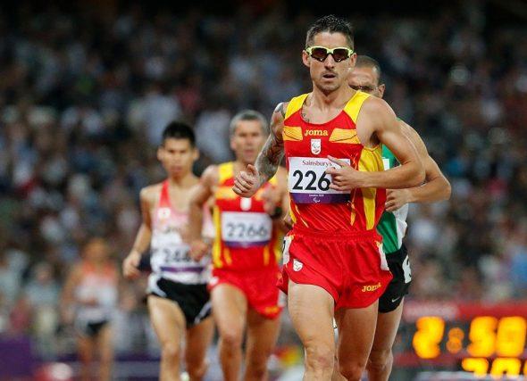 Gustavo Nieves encara os seus quintos Xogos Paralímpicos
