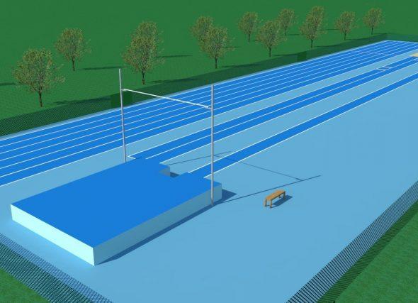 A FGA pon a disposición un anteproxecto de Módulo exterior de atletismo