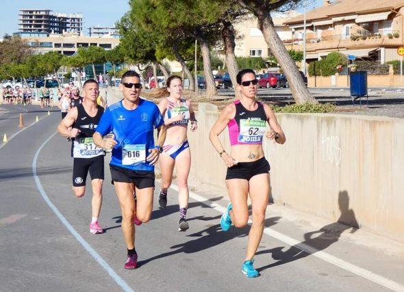 Máis dunha vintena de galegos e galegas acuden ao nacional de media marathón