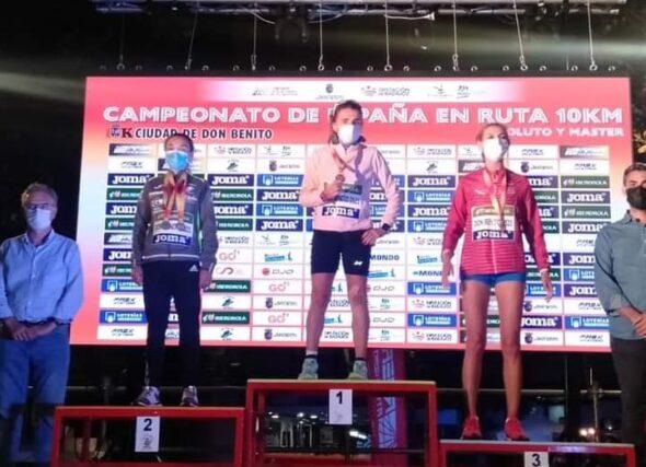 Ouro para Julia Vaquero e prata para Alex Fernández, no nacional máster dos 10 K.